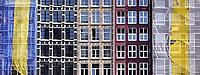 Nederland Amsterdam 2020. Renovatie van grachtenpanden. Let op : Foto heeft klein formaat.   Foto Berlinda van Dam / Hollandse Hoogte