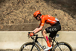 Nathan Van Hooydonck (BEL) CCC Team from the breakaway during Stage 6 of the 10th Tour of Oman 2019, running 135.5km from Al Mouj Muscat to Matrah Corniche, Oman. 21st February 2019.<br /> Picture: ASO/Kåre Dehlie Thorstad | Cyclefile<br /> All photos usage must carry mandatory copyright credit (© Cyclefile | ASO/Kåre Dehlie Thorstad)