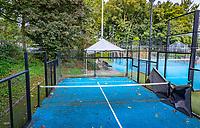 Netherlands, Houten, Oktober 2021, Sportclub Houten, Padel teachers, Mini Padel court