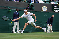 5th July 2021, Wimbledon, SW London, England; 2021 Wimbledon Championships, day 7; Alexander Zverev , Germany