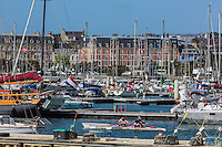 France, Manche (50), Cherbourg, le port Chantereyne  / France, Manche, Cherbourg, port Chantereyne