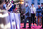 Michael Douglas at the Red Carpet event at the World Celebrity Pro-Am 2016 Mission Hills China Golf Tournament on 20 October 2016, in Haikou, China. Photo by Victor Fraile / Power Sport Images