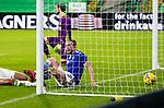 Celtic v St Johnstone…06.12.20   Celtic Park      SPFL<br />Chris Kane celebrates his goal<br />Picture by Graeme Hart.<br />Copyright Perthshire Picture Agency<br />Tel: 01738 623350  Mobile: 07990 594431