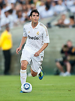 LOS ANGELES, CA – July 16, 2011: Kaka' (8) of Real Madrid during the match between LA Galaxy and Real Madrid at the Los Angeles Memorial Coliseum in Los Angeles, California. Final score Real Madrid 4, LA Galaxy 1.