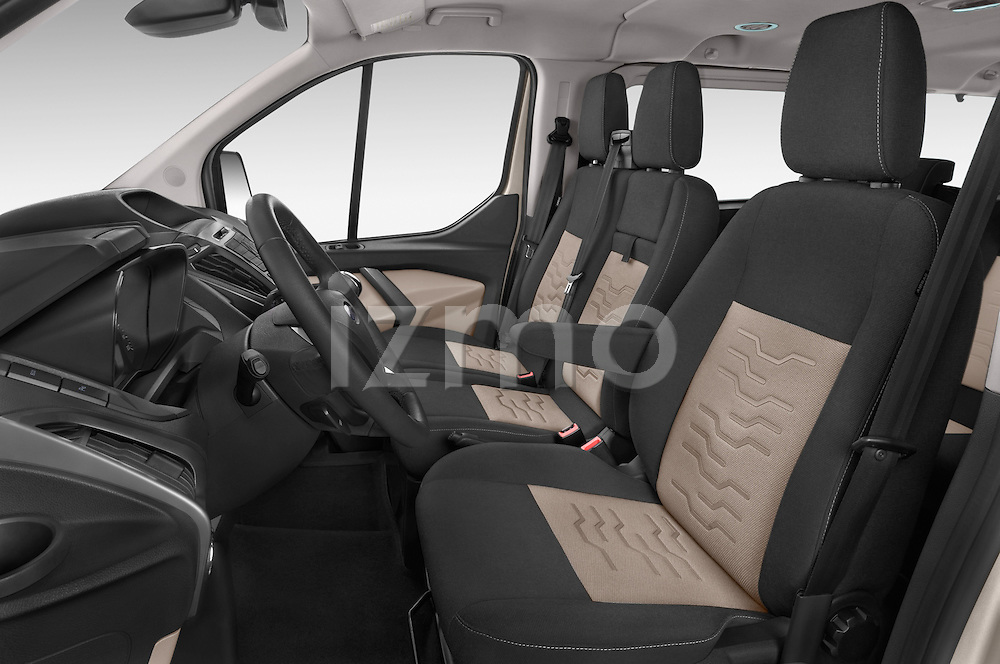 Front seat view of a 2013 Ford TOURNEO CUSTOM TITANIUM 5 Door Combi Front Seat car photos