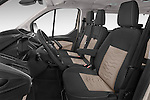 Front seat view of a 2013 Ford TOURNEO CUSTOM TITANIUM 5 Door Combi Front Seat car photos