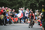 Clement Russo (FRA) Team Arkea-Samsic in action during Stage 5 of the 2021 Tour de France, an individual time trial running 27.2km from Change to Laval, France. 30th June 2021.  <br /> Picture: A.S.O./Pauline Ballet | Cyclefile<br /> <br /> All photos usage must carry mandatory copyright credit (© Cyclefile | A.S.O./Pauline Ballet)