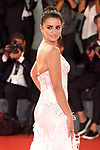 NON EXCLUSIVE PICTURE: MATRIXPICTURES.CO.UK<br /> PLEASE CREDIT ALL USES<br /> <br /> WORLD RIGHTS<br />  <br /> Spanish actress Penelope Cruz attends the premiere for Loving Pablo during the 74th Venice Film Festival in Venice, Italy.<br /> <br /> SEPTEMBER 6th 2017<br /> <br /> REF: PTY 171954