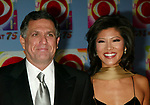 Julie Chen and Leslie Moonves ttending CBS AT 75, a three hour entertainment extravaganza commemorating CBS's 75th Anniversary, which will be  broadcast live from the Hammerstein Ballroom at New York's Manhattan Center in New York City.<br />