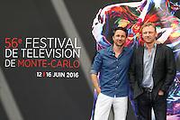 FTV DE MONTE-CARLO - PHOTOCALL 'GREY'S ANATOMY' AVEC MARTIN HENDERSON ET KEVIN MCKIDD