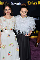 "LOS ANGELES, USA. November 15, 2019: Ana de Armas & Katherine Langford at the premiere of ""Knives Out"" at the Regency Village Theatre.<br /> Picture: Paul Smith/Featureflash"