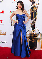 PASADENA, CA, USA - OCTOBER 10: Katherine Castro arrives at the 2014 NCLR ALMA Awards held at the Pasadena Civic Auditorium on October 10, 2014 in Pasadena, California, United States. (Photo by Celebrity Monitor)