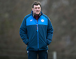 St Johnstone Training…30.12.16<br />Manager Tommy Wright pictured during training this morning ahead of tomorrow's game against Dundee<br />Picture by Graeme Hart.<br />Copyright Perthshire Picture Agency<br />Tel: 01738 623350  Mobile: 07990 594431