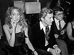 JERRY HALL CON HELMUT BERGER