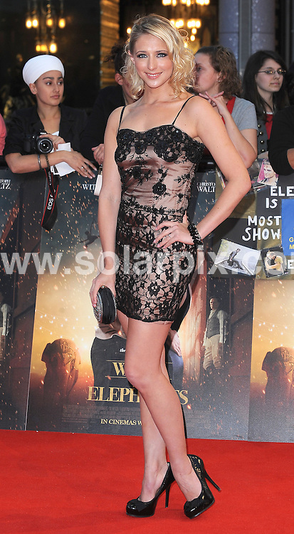 **ALL ROUND PICTURES FROM SOLARPIX.COM** **WORLDWIDE SYNDICATION RIGHTS** .The UK premiere of the new movie, Water for Elephants, held at the Vue Westfield in London. .This pic:     Ali Bastian .JOB REF: 13261 TLP DATE:    04.05.2011 .**MUST CREDIT SOLARPIX.COM OR DOUBLE FEE WILL BE CHARGED** **MUST AGREE FEE BEFORE ONLINE USAGE** **CALL US ON: +34 952 811 768 or LOW RATE FROM UK 0844 617 7637**