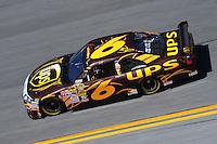 Feb 07, 2009; Daytona Beach, FL, USA; NASCAR Sprint Cup Series driver David Ragan during practice for the Daytona 500 at Daytona International Speedway. Mandatory Credit: Mark J. Rebilas-