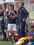 Andy Halliday about to come on as a sub until Danny Wilson gets injured
