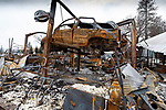 Rich Dewell's Import Auto Repair, Clark Road, Paradise<br /> Among the thousands of vehicles that were destroyed in the Camp Fire were hundreds of vintage vehicles that could not be quickly moved and vehicles that were awaiting repair or being serviced when evacuation orders were ordered.