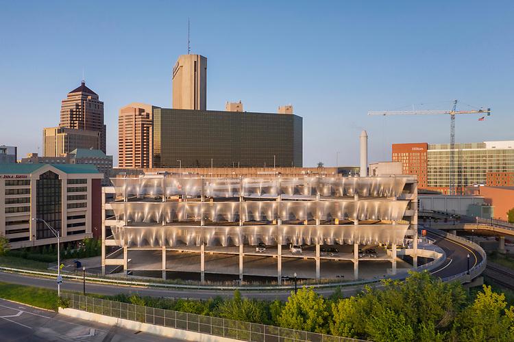 Greater Columbus Convention Center Ohio Center Garage / Parking Garage East   Schooley Caldwell Associates
