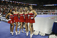 Omaha, NE - DECEMBER 20:  Dollies of the Stanford Cardinal during Stanford's 20-25, 24-26, 23-25 loss against the Penn State Nittany Lions in the 2008 NCAA Division I Women's Volleyball Final Four Championship match on December 20, 2008 at the Qwest Center in Omaha, Nebraska.