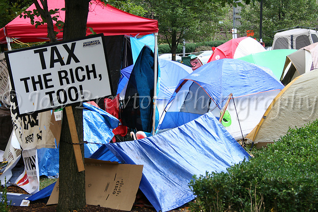 The Occupy Pittsburgh movement was a protest group that set up camp for nearly four months on the lawns of BNY Mellon to show their support for economic equality.