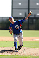 Brent Ebinger - Chicago Cubs - 2010 Instructional League.Photo by:  Bill Mitchell/Four Seam Images..