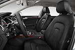 Front seat view of a 2014 Audi A4 AMBITION LUXE 5 Door Wagon 2WD