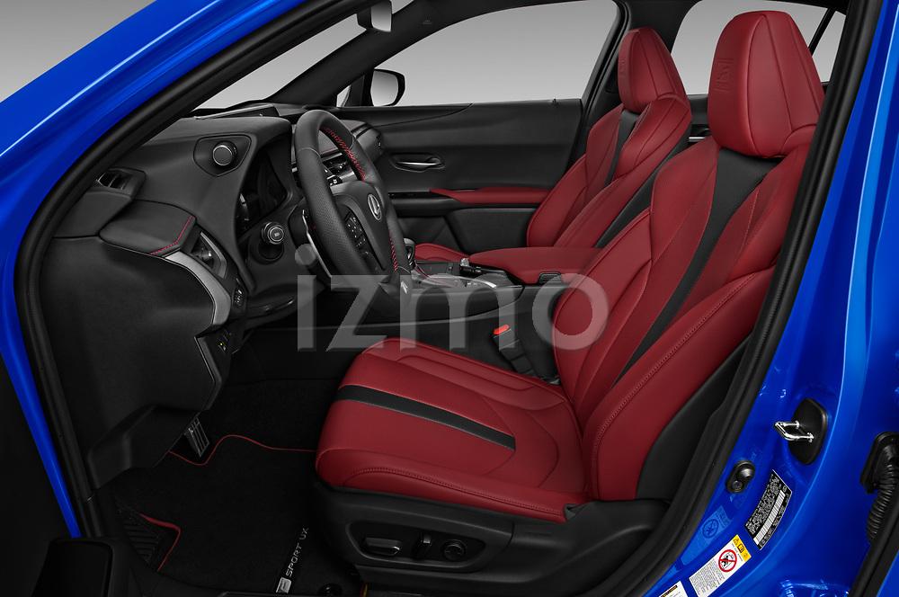 Front seat view of 2019 Lexus UX F-Sport-4wd 5 Door SUV Front Seat  car photos