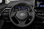 Car pictures of steering wheel view of a 2020 Toyota C-HR LE 5 Door SUV Steering Wheel