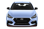 Car photography straight front view of a 2018 Hyundai i30 N Performance Pack Select Doors Door Hatchback