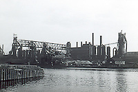 Cleveland:  Factories, River.