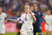 PARIS, FRANCE - JUNE 28: Rose Lavelle #16 prior to a 2019 FIFA Women's World Cup France quarter-final match between France and the United States at Parc des Princes on June 28, 2019 in Paris, France.