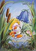 Ron, CUTE ANIMALS, Quacker, paintings, duck, bellflower(GBSG8095,#AC#) Enten, patos, illustrations, pinturas