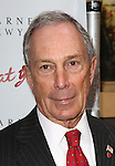 Mayor Michael Bloomberg  attending the Broadway Opening Night Performance of 'I'll Eat You Last' at the Booth Theatre in New York City on 4/24/2013