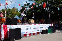 Fetes Gourmandes 2011, au Musee Pointe-a-Calliere.<br /> <br /> Montreal (Qc) CANADA - August 13, 2011 Monsieur Takanari Kakuda, Consul-Général Adjoint du Japon s'adressa en premier à la foule <br /> afin de remercier tous les dignitaires présents, les bénévoles pour leurs efforts ainsi que l'association de Commerce et Industrie Japonaise ''shokokai''.