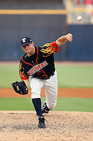 June 12th 2008:  Pitcher Ian Ostlund of the Toledo Mudhens, Class-AAA affiliate of the Detroit Tigers, during a game at Fifth Third Field in Toledo, OH.  Photo by:  Mike Janes/Four Seam Images