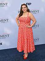 """LOS ANGELES, USA. September 02, 2021: Beanie Feldstein at the premiere for FX's """"Impeachment: American Crime Story"""" at the Pacific Design Centre.<br /> Picture: Paul Smith/Featureflash"""