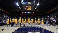 BERKELEY, CA - November 18, 2016: Cal Bears Women's Basketball team vs. the UC Riverside Highlanders at Haas Pavilion. Final score, Cal Bears 71, UC Riverside Highlanders 56.