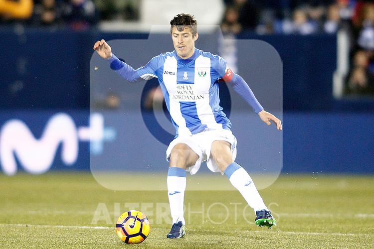 CD Leganes' Martin Mantovani during La Liga match. January 28,2017. (ALTERPHOTOS/Acero)