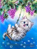 Kayomi, CUTE ANIMALS, paintings, USKH153,#AC# illustrations, pinturas ,everyday