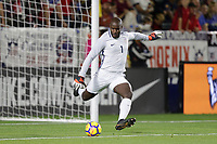 Carson, CA - Sunday January 28, 2018: Bill Hamid during an international friendly between the men's national teams of the United States (USA) and Bosnia and Herzegovina (BIH) at the StubHub Center.