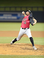 Sam Delaplane plays in the annual Arizona Fall League Fall Stars Game at Salt River Fields on October, 12, 2019 in Scottsdale, Arizona (Bill Mitchell)