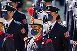Act on the occasion of the festival of 'San Juan Bautista', Patron of the Municipal Police of Madrid. June 24, 2021 (ALTERPHOTOS/Acero)