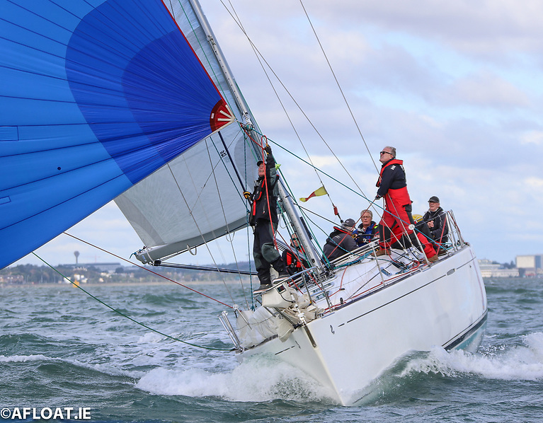 Rodney and Keith Martin's Beneteau 44.7 Lively Lady from the Royal Irish Yach Club