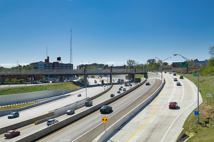 US I-71 Martin Luther King Drive Interchange Cincinnati Ohio | Kokosing Construction Company