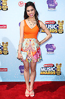 LOS ANGELES, CA, USA - APRIL 26: Ashley Argota at the 2014 Radio Disney Music Awards held at Nokia Theatre L.A. Live on April 26, 2014 in Los Angeles, California, United States. (Photo by Xavier Collin/Celebrity Monitor)