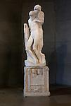 14/01/2011 - Italy, Milan, Castello Sforzesco, Pietà Rondanini sculpture