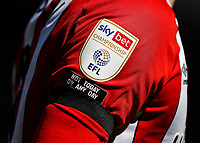 17th April 2021; Brentford Community Stadium, London, England; English Football League Championship Football, Brentford FC versus Millwall; Black arm band worn by Mathias Jensen of Brentford in tribute to Prince Philip, Duke of Edinburgh, who died in Windsor Castle on 9th April 2021