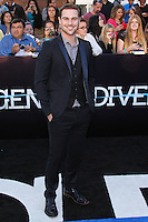 """WESTWOOD, LOS ANGELES, CA, USA - MARCH 18: Grey Damon at the World Premiere Of Summit Entertainment's """"Divergent"""" held at the Regency Bruin Theatre on March 18, 2014 in Westwood, Los Angeles, California, United States. (Photo by Xavier Collin/Celebrity Monitor)"""