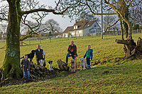 2018 12 08 PR job in Wiston, Pembrokeshire, Wales, UK